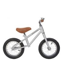 Banwood Kinder Laufrad First Go-silber crome Spezial edition